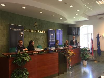 Ivan Korčok attended the National Convent on the European Union workshop at the Faculty of Political Sciences and International Relations at Matej Bel University in Banská Bystrica.