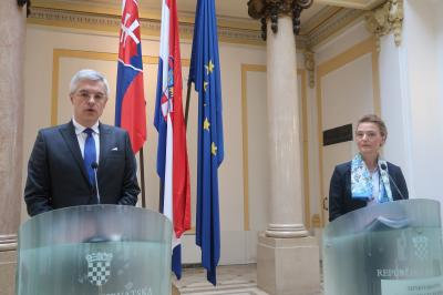 "Korčok in Zagreb: ""I´m pleased that Croatia has shown interest in sharing a comprehensive package of experiences from our Presidency, including the pre-preparatory phase and logistics"""