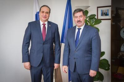 Frantiek Ruika State Secretary Of The Ministry Foreign And European Affairs Slovak Republic Received Mohamed Abdel Alim KHALIL