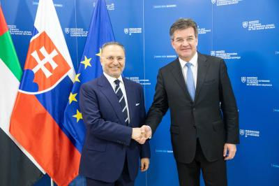Minister Lajčák Meets with Minister of State for Foreign Affairs of