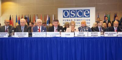 Lajčák Gives Address at the OSCE Human Dimension Implementation Meeting in Warsaw