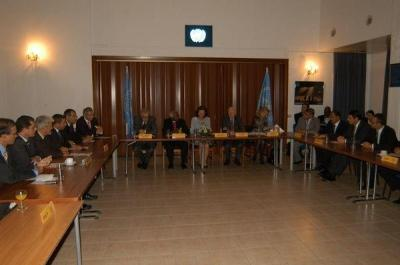 From the meeting at the Ledra Palace Hotel