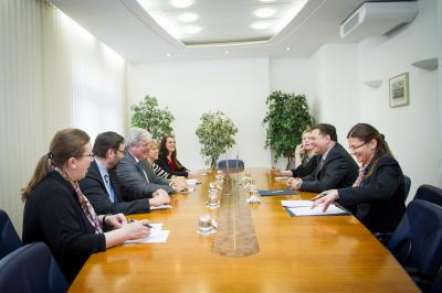 State secretary Igor Slobodník met with deputy minister of foreign affairs of Bosnia and Herzegovina Josip Brkić.