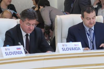 Minister Lajčák attends meeting of the Central European Initiative in Minsk