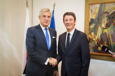 Korčok discusses timely European topics with the French State Secretary of Economy and Finance
