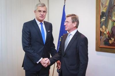 Korčok meets with Bartholomäus Kalb, Chair of the Slovak-German Parliamentary Group
