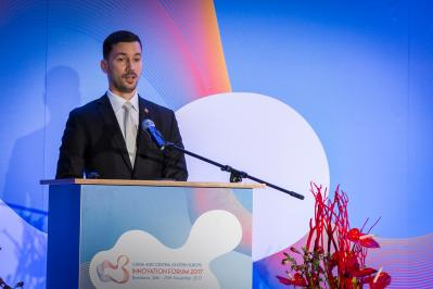 "Štátny tajomník L. Parízek spoluotvoril 2. ministerskú konferenciu ""China and Central Eastern Europe – Innovation Forum 2017""."