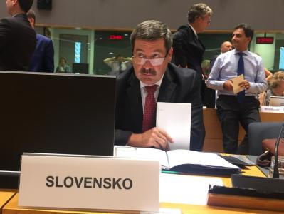 State Secretary Ružička at the meeting of the EU General Affairs' Council