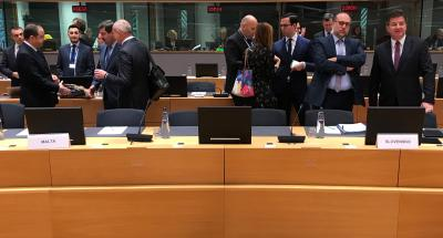 EU 27 Foreign Affairs Ministers Discussed Draft Agreement between EU and London
