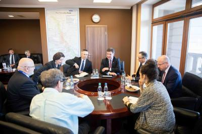 Miroslav Lajčák Meets with the Head of ODIHR/OSCE International Observation Mission for Parliamentary Elections in Moldova