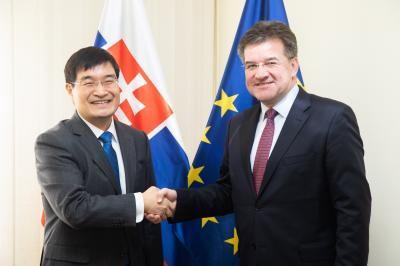 Minister Lajčák Hopes for Stability on the Korean Peninsula
