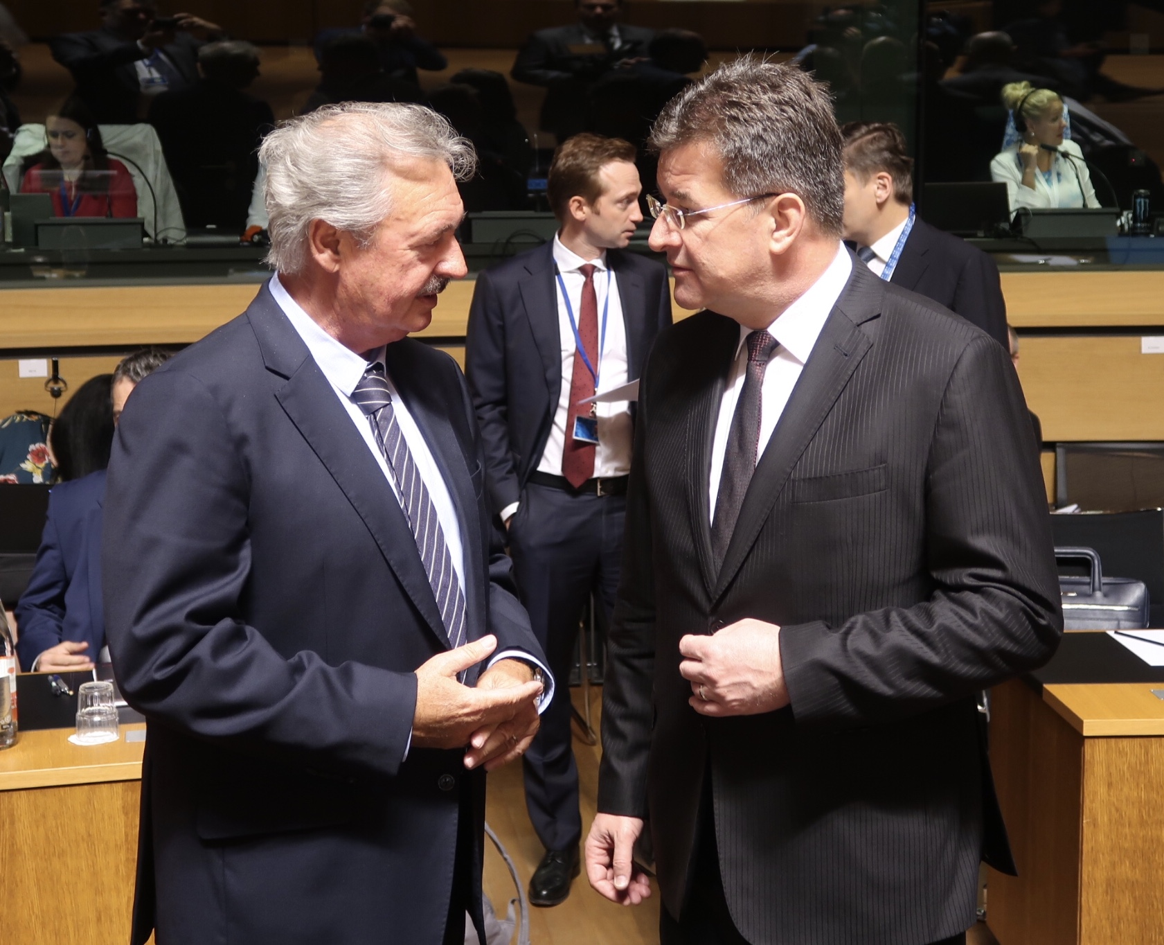Miroslav Lajčák Takes Part in the Meeting of the EU Foreign Affairs Council in Luxembourg