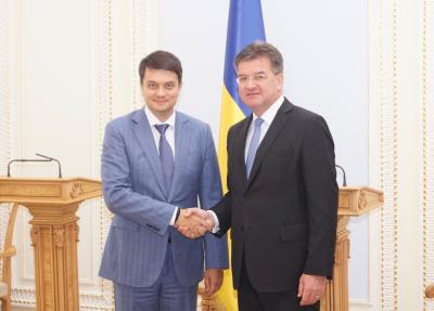 Miroslav Lajčák Meets with Representatives of the Ukraine Administration and Parliament